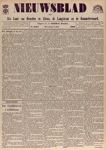 Nieuwsblad het land van Heusden en Altena de Langstraat en de Bommelerwaard 1909-07-07