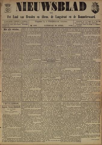 Nieuwsblad het land van Heusden en Altena de Langstraat en de Bommelerwaard 1894-04-28