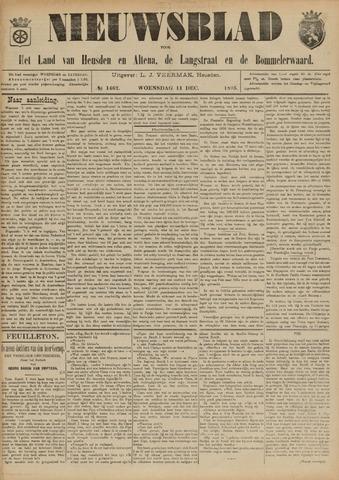Nieuwsblad het land van Heusden en Altena de Langstraat en de Bommelerwaard 1895-12-11