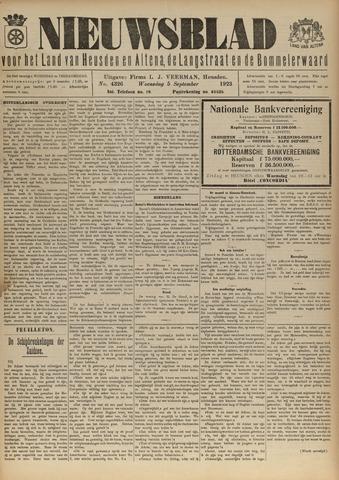 Nieuwsblad het land van Heusden en Altena de Langstraat en de Bommelerwaard 1923-09-05