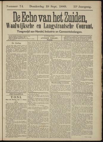 Echo van het Zuiden 1889-09-19