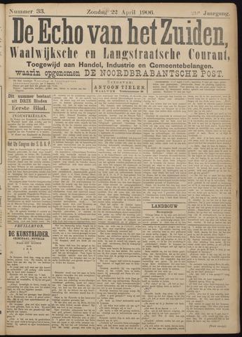 Echo van het Zuiden 1906-04-22