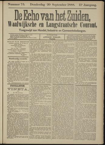 Echo van het Zuiden 1888-09-20