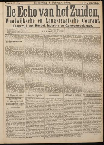 Echo van het Zuiden 1904-02-04