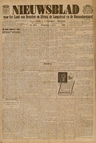 Nieuwsblad het land van Heusden en Altena de Langstraat en de Bommelerwaard 1936-04-01