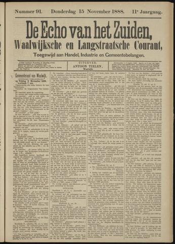 Echo van het Zuiden 1888-11-15