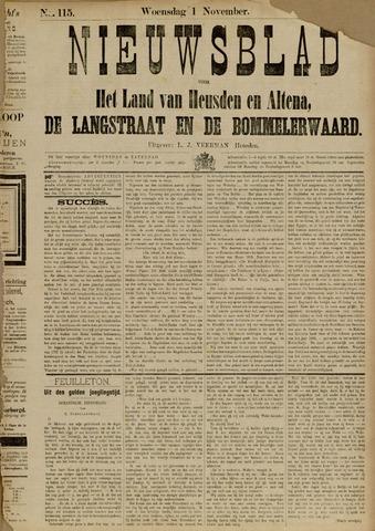 Nieuwsblad het land van Heusden en Altena de Langstraat en de Bommelerwaard 1882-11-01