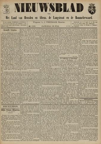 Nieuwsblad het land van Heusden en Altena de Langstraat en de Bommelerwaard 1892-07-30