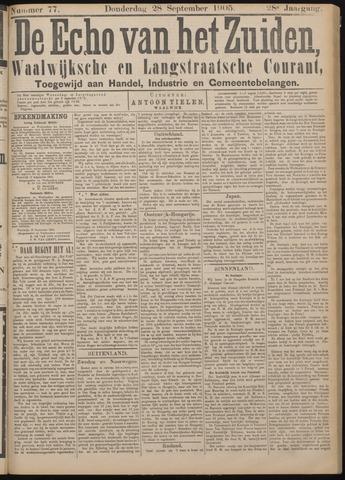 Echo van het Zuiden 1905-09-28