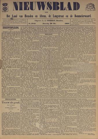 Nieuwsblad het land van Heusden en Altena de Langstraat en de Bommelerwaard 1908-05-30