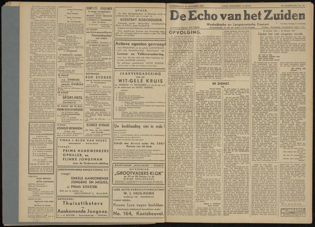 Echo van het Zuiden 1947-10-30