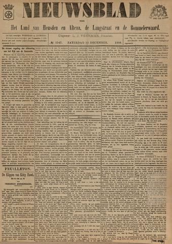 Nieuwsblad het land van Heusden en Altena de Langstraat en de Bommelerwaard 1896-12-12
