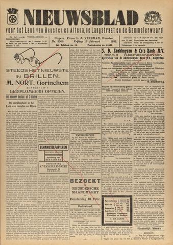 Nieuwsblad het land van Heusden en Altena de Langstraat en de Bommelerwaard 1932-02-12