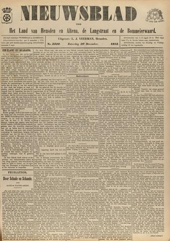 Nieuwsblad het land van Heusden en Altena de Langstraat en de Bommelerwaard 1913-12-20
