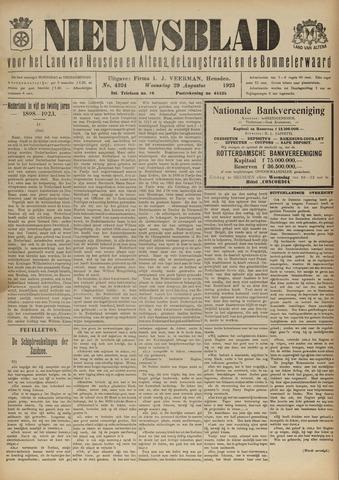 Nieuwsblad het land van Heusden en Altena de Langstraat en de Bommelerwaard 1923-08-29