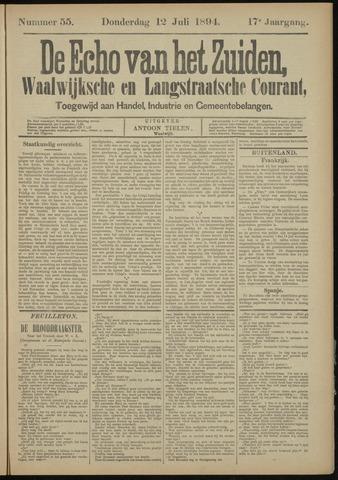 Echo van het Zuiden 1894-07-12