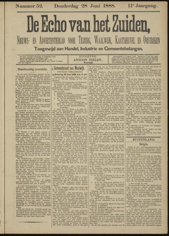 Echo van het Zuiden 1888-06-28