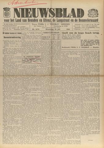 Nieuwsblad het land van Heusden en Altena de Langstraat en de Bommelerwaard 1941-07-16