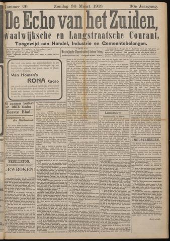 Echo van het Zuiden 1913-03-30