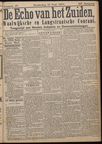 Echo van het Zuiden 1907-06-13