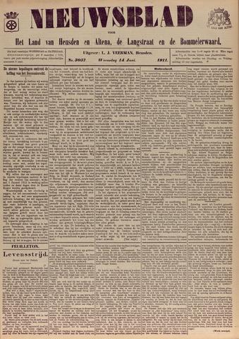 Nieuwsblad het land van Heusden en Altena de Langstraat en de Bommelerwaard 1911-06-14