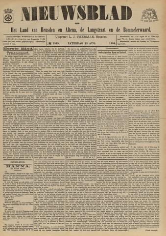 Nieuwsblad het land van Heusden en Altena de Langstraat en de Bommelerwaard 1904-08-13