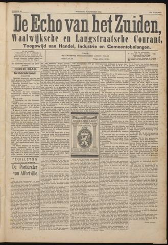 Echo van het Zuiden 1922-11-08