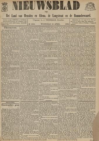 Nieuwsblad het land van Heusden en Altena de Langstraat en de Bommelerwaard 1902-04-16