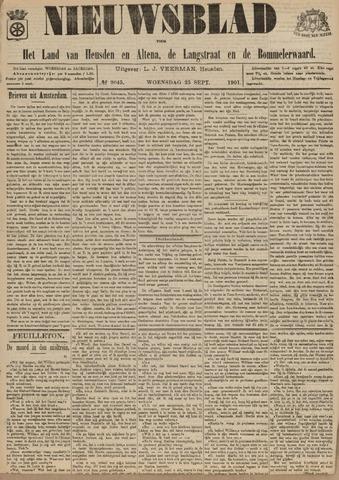 Nieuwsblad het land van Heusden en Altena de Langstraat en de Bommelerwaard 1901-09-25