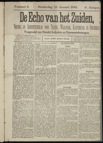 Echo van het Zuiden 1881-01-13