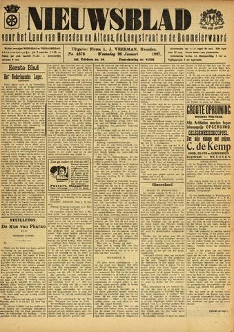 Nieuwsblad het land van Heusden en Altena de Langstraat en de Bommelerwaard 1927-01-26