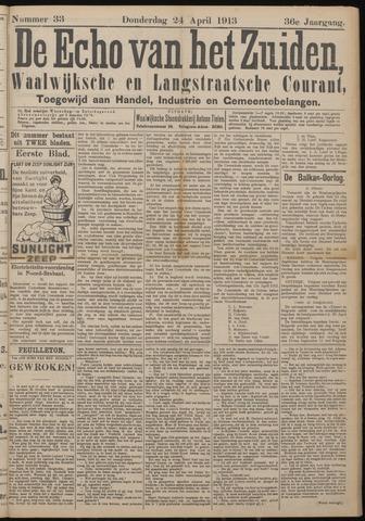 Echo van het Zuiden 1913-04-24