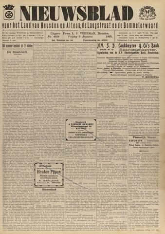 Nieuwsblad het land van Heusden en Altena de Langstraat en de Bommelerwaard 1929-08-02