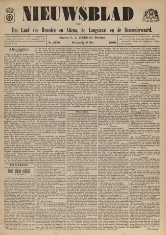 Nieuwsblad het land van Heusden en Altena de Langstraat en de Bommelerwaard 1906-05-09