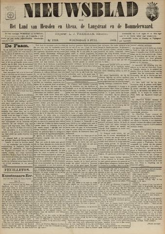 Nieuwsblad het land van Heusden en Altena de Langstraat en de Bommelerwaard 1893-07-05