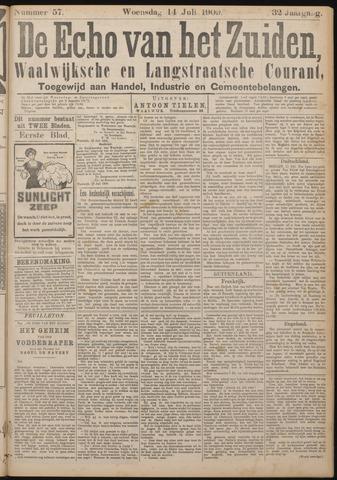 Echo van het Zuiden 1909-07-14