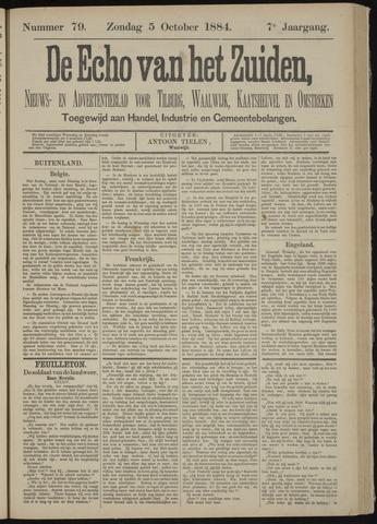 Echo van het Zuiden 1884-10-05