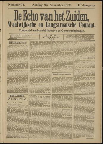 Echo van het Zuiden 1888-11-25