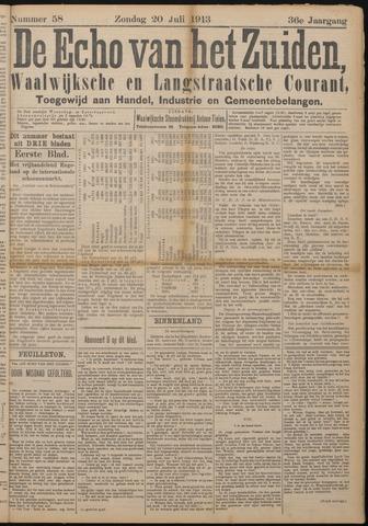 Echo van het Zuiden 1913-07-20