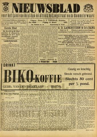 Nieuwsblad het land van Heusden en Altena de Langstraat en de Bommelerwaard 1927-03-11