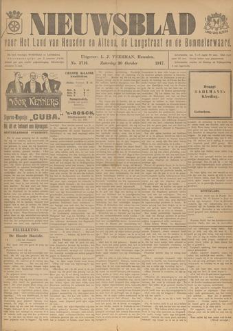 Nieuwsblad het land van Heusden en Altena de Langstraat en de Bommelerwaard 1917-10-20