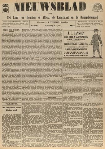Nieuwsblad het land van Heusden en Altena de Langstraat en de Bommelerwaard 1913-04-02