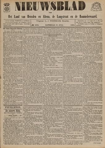 Nieuwsblad het land van Heusden en Altena de Langstraat en de Bommelerwaard 1900-07-21
