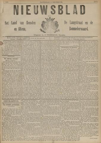 Nieuwsblad het land van Heusden en Altena de Langstraat en de Bommelerwaard 1891-12-05