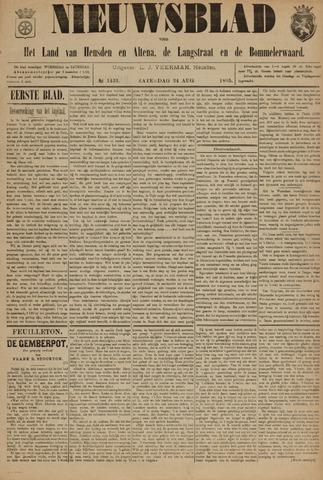 Nieuwsblad het land van Heusden en Altena de Langstraat en de Bommelerwaard 1895-08-24