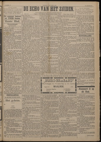 Echo van het Zuiden 1917-10-28
