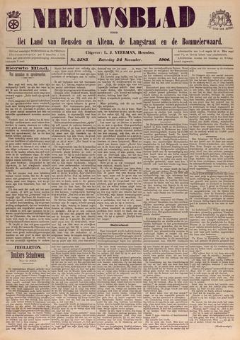 Nieuwsblad het land van Heusden en Altena de Langstraat en de Bommelerwaard 1906-11-24