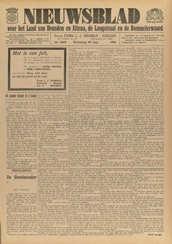 Nieuwsblad het land van Heusden en Altena de Langstraat en de Bommelerwaard 1934-08-22