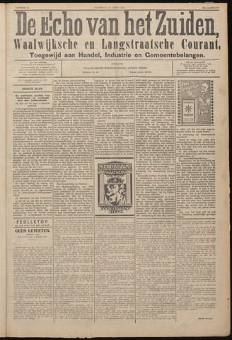 Echo van het Zuiden 1926-04-24