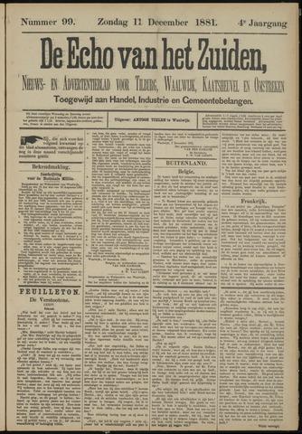 Echo van het Zuiden 1881-12-11
